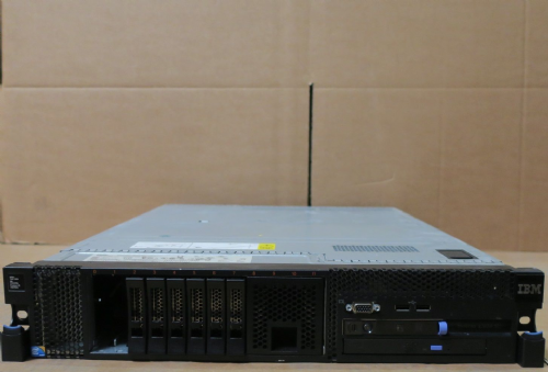 IBM System X 3650 M2 2 x Quad Core Xeon X5570 2.93GHz 128GB 2 x 73GB RAID Server